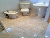 Wet Room in Charlbury, Oxfordshire, October 2012
